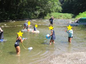 川遊びの様子1