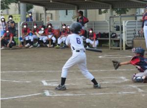 野球の試合の様子2