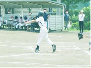 野球の試合の様子3