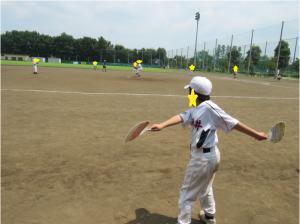 野球の試合の様子6