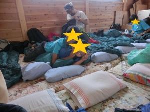 宿泊施設の中の写真