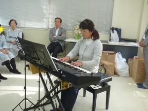 先生のピアノ