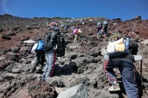 2日目登山の写真