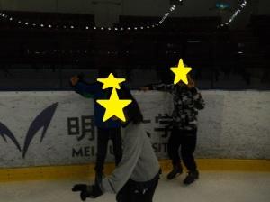 スケートをする様子2