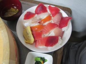 握ったお寿司