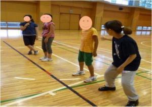 ダンスの練習風景の写真