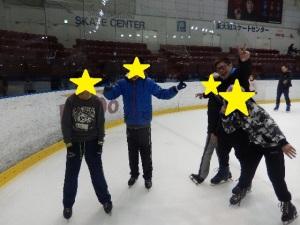 スケートをする様子3