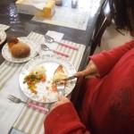 食事風景の写真