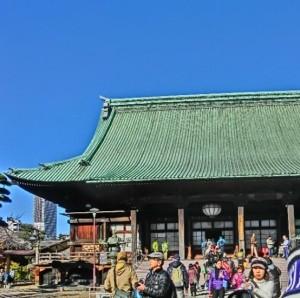 護国寺での様子3
