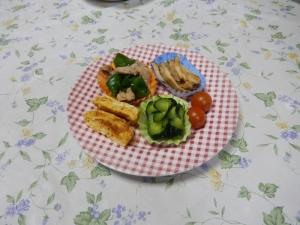お弁当の具の写真