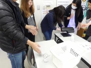 手洗い講習会の様子6