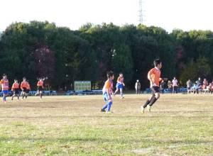 試合中の写真