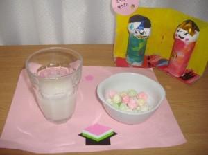 ひな祭りのお食事2