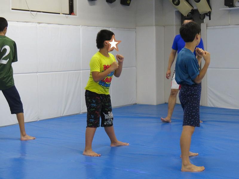 格闘技の練習1