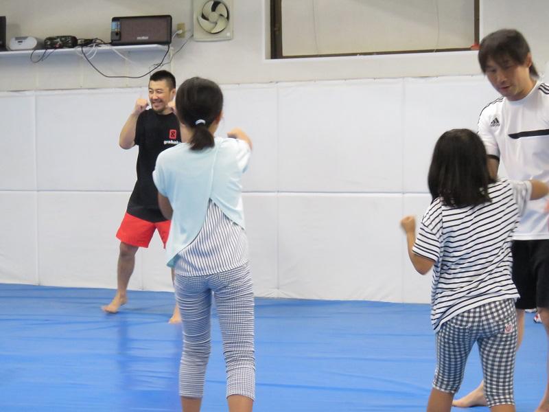 格闘技の練習3