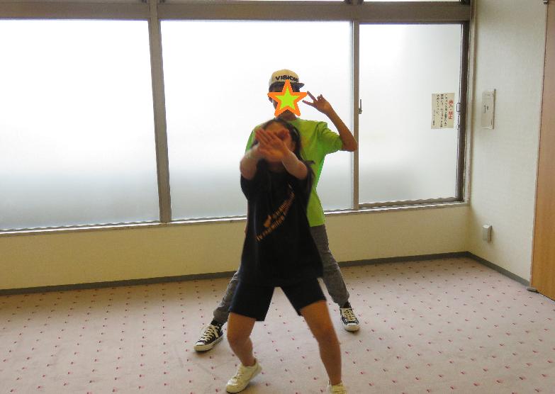プロの先生とダンス部生徒1