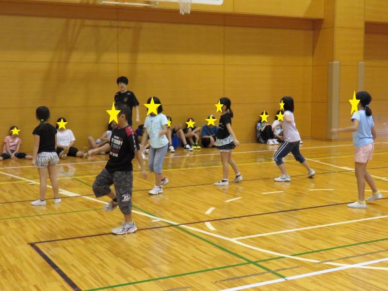 ダンス練習の様子5