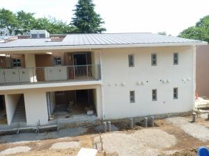 新しい児童棟の写真